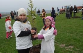 Gençlerden ağaçlandırma hareketi
